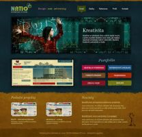 NATIO webdesign by HanyzCZ