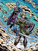 Link and Fi by Twinkie5000