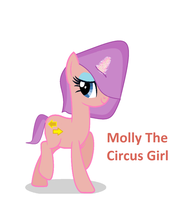 Molly the Circus Pony by heyitsmeAlica