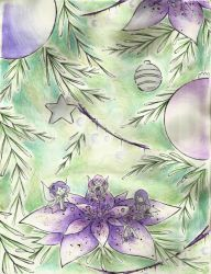 Purple Fairies - Christmas 2013 by SpinkellaSapphire