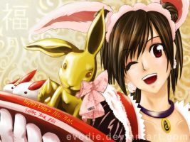 crClaire:Gong Xi Fa Cai_colord by Evodie