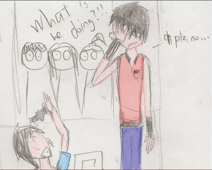 WHAT is WHO doing? by StrawberrySaint
