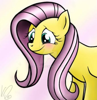 Little Pony Fluttershy by EpicWTF