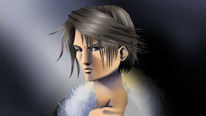Squall Final Fantasy VIII by VenomDesenhos