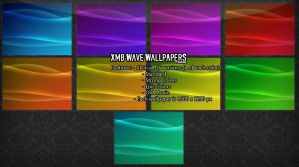 XMB Wave Wallpapers by DarkRed27