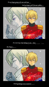 APH - Not your soldier anymore by Orchidias