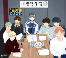 3YEARSWITHBTS by ch-eei