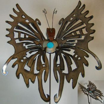 Lg. Decorative Butterfly by Angi-kat