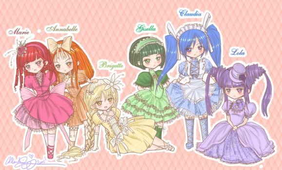- Little Lolitas - by Mandy-Mo