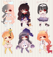Adoptable BATCH 17 Collab w/ Yuniique [[UPDATE!]] by KokoMall