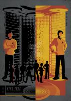 STAR TREK CHEKOV AND SULU by bensposters