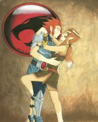 Lion-O and Pumyra for Rachel Complete by Yamigirl21