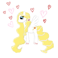 Valentines Pony Adoptable: CLOSED by RainCloudAdopts