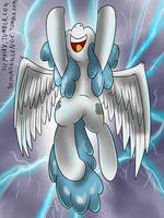 Lightning Bolt 30 min art challenge by Ziemniax