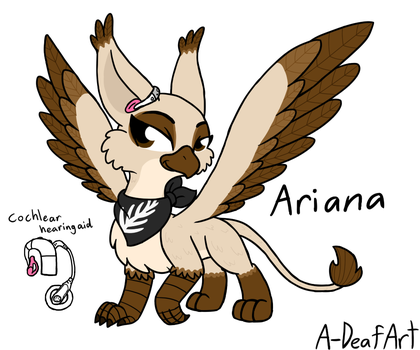 Ariana the Griffin by HandyxRussell10