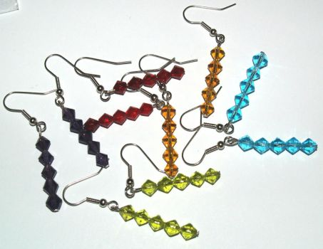 dangle earrings by allivegotisyourhand