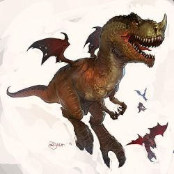 T-Rex Muta by Mr--Jack