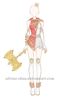 OC Aloise Outfit 1 by Aloise-chan