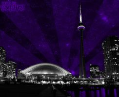The Purple Side of Toronto by burhan23