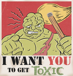 POPTAGE TOXIC AVENGER by paintmarvels