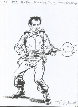 jaumecullell 1264 241 bill murray ghostbuster by ga ren - Bill Murray Coloring Book
