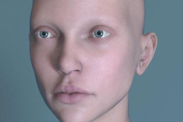 Portrait Shader Test 01 by screenlicker