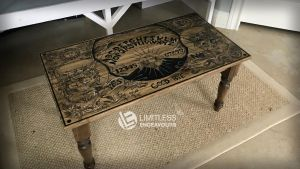 Ouija Coffee Table by LimitlessEndeavours