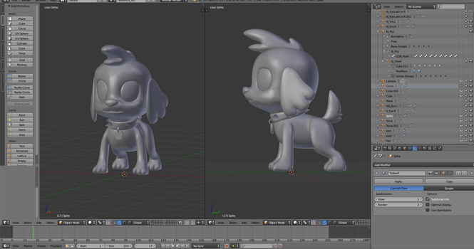 Spike the Dog [WIP] by Pika-Robo