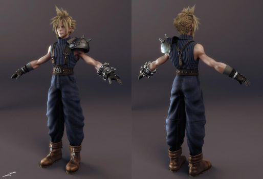 WIP_Prelude_Cloud FF7 by Wen-JR