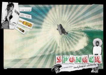 Sponger Ad by mixmedia