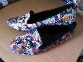 Avengers Shoes by Reindeergames1