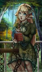 Collab: Reading Buddies by Lady-Zelda-of-Hyrule