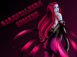 Darkstalker Evelynn by yatsuakumahichigo
