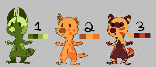 Quick Adopts #1 [OPEN] 2 USD or 100 Points by StormyGlaze