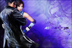 ASUKA and JIN Wallpaper by sssnakeee