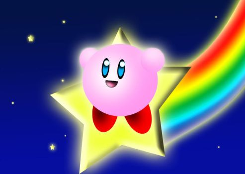 Kirbys starride by CiindyCore