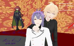 Happy birthsday Lacus Welt! (MMD) by Sephikuji