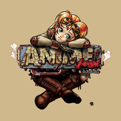 AnimeFest T-Shirt 2014 by Snigom