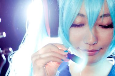VOCALOID project DIVA 2 miku 3 by akinohiaki
