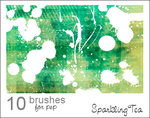 GIMP Splatter Brushes by Project-GimpBC