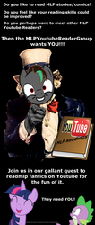 MLPYoutubeReaderGroupPoster by robbieagray