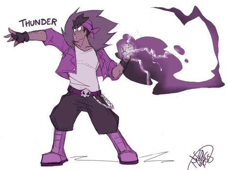 CBNS: Thunder by 123soleil