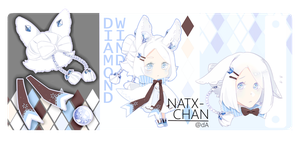 [CLOSED] Diamond wind [ADOPTABLE] by Natx-chan