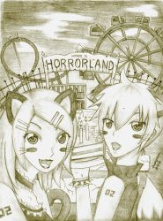 Welcome to Horrorland :LenRin: by hamxham