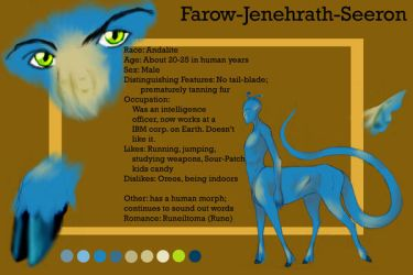Farow Reference Sheet by creepygoth666