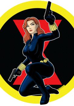 Black Widow Commission by Thuddleston