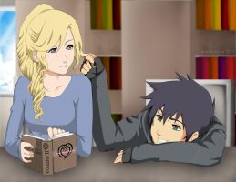 Percabeth:Killing Time by GummyDrive