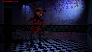 A Fox Who Gawks Behind An Eyepatch by TF541Productions