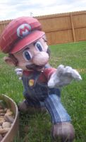 SSBB Mario Papercraft by flatchulencex2