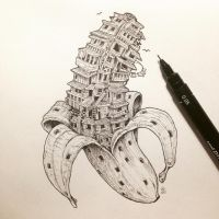 Bananaville by kerbyrosanes